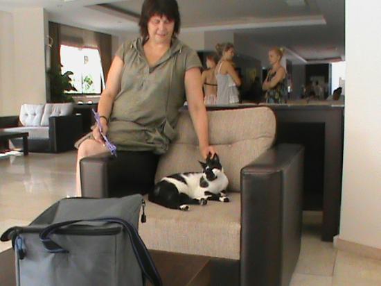Bone Club Hotel SVS: Выход из отеля!