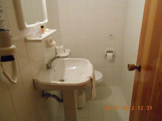 Bone Club Hotel SVS: Туалет и ванная комната!