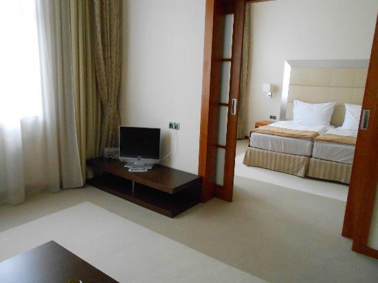 Design Merrion Hotel: Salon avec vue sur la chambre
