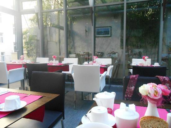 Design Merrion Hotel: jardin d'hiver pour prendre le petit dej