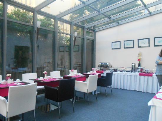 Design Merrion Hotel: jardin d'hiver