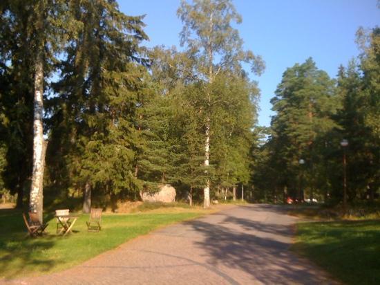 Hotel Rantapuisto: parco