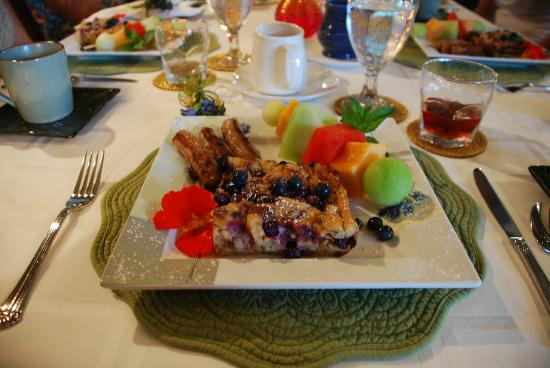 Annville Inn: tasty breakfast