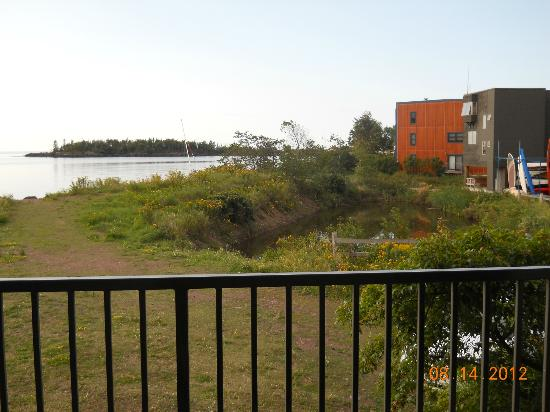 "Best Western Plus Superior Inn & Suites: View straight out our ""Lake Front"" balcony"