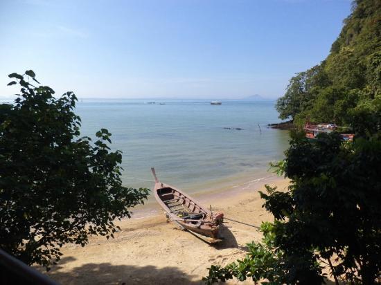 Arawan Krabi Beach Resort: the private beach
