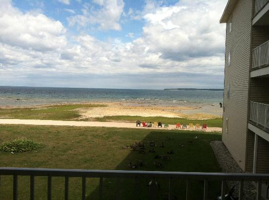Holiday Inn Express St. Ignace-Lake Front: view from room