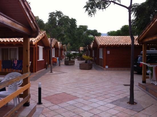 Bonterra Park Camping and Bungalows: los chalets de madera tipo b