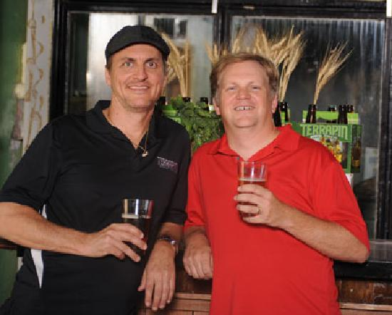 Terrapin Beer Company : The Founders of Terrapin Beer Co. John and Spike