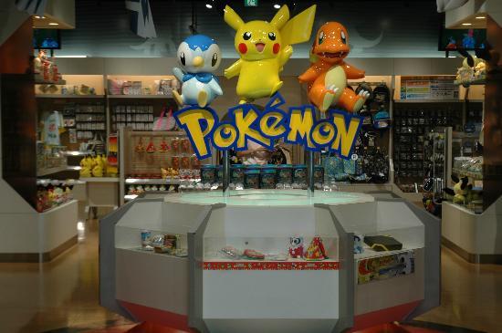 Minato, Japón: Pokemon Center