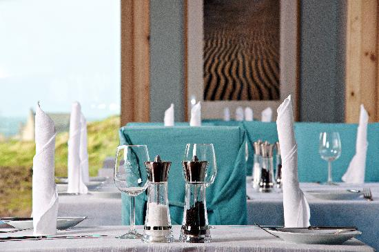 Restaurant at Auberge Carnish: Fine dining by the sea