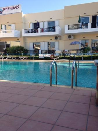 Pool area manager in background cleaning picture of - Hotels in yeovil with swimming pool ...