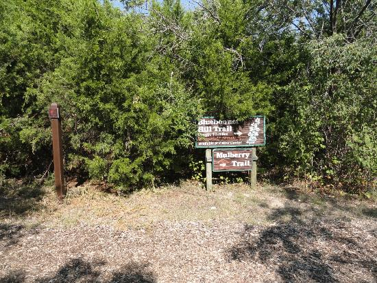 Trail Sign Picture Of Cedar Ridge Preserve Managed By