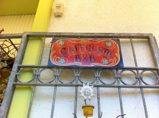 Caffeletti B&B: ingresso :-)