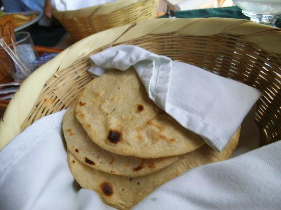 Hotel Backpackers & Restaurant: Corn Tortillas