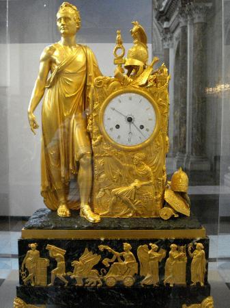 Paleis op de Dam (Königlicher Palast): Empire Clock with Louis Napoleon