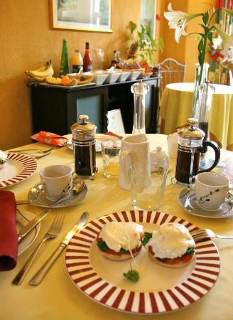 Bay Tree House Bed & Breakfast: vegetarian breakfast - colazione vegetariana