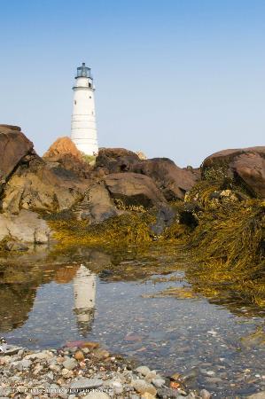 Boston Light: reflections