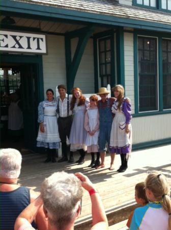 The whole cast at avonlea Village