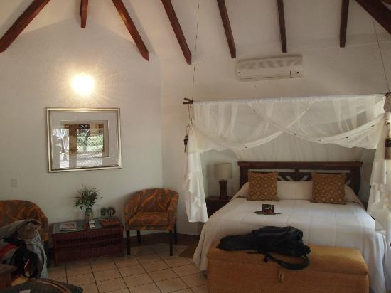Idube Game Reserve Lodge: room