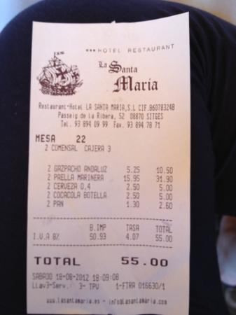 Image De Ticket De Restaurante