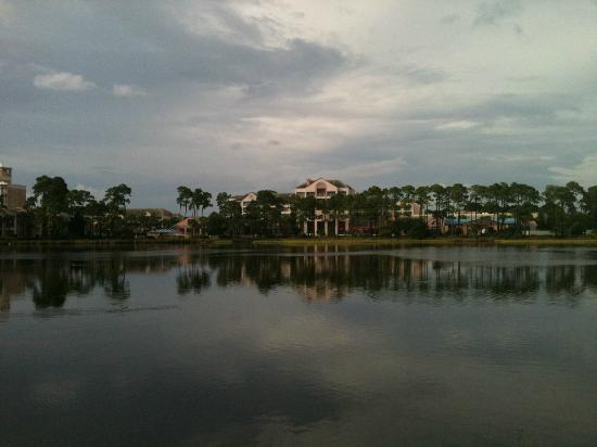 Bay Point Golf Resort & Spa: View of resort from the pier