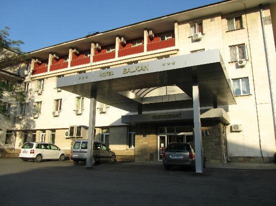 Balkan Hotel : Devanture