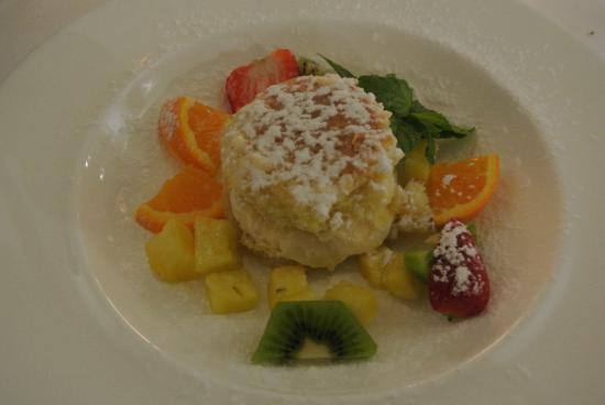 Masseria Bagnara Resort & Spa: Gerechten van chef Angela
