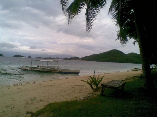 Coron Bay: Banana Island Beach,Coron Busuanga,Palawan