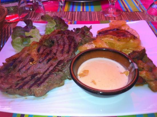 Hotel Restaurant Le Petit Trianon : pièce de bœuf