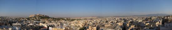 Astor Hotel Athens: vue de la terrasse
