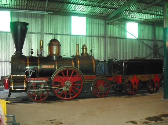 Exporail, the Canadian Railway Museum: John Molson (wood burning locomotive that does demonstrations at times)