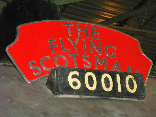 Exporail, the Canadian Railway Museum: The Flying Scotsman
