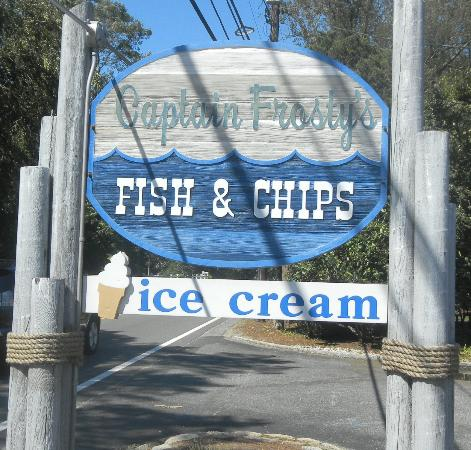 Captain Frosty's Fish & Chips: Captain Frosty's on Cape Cod