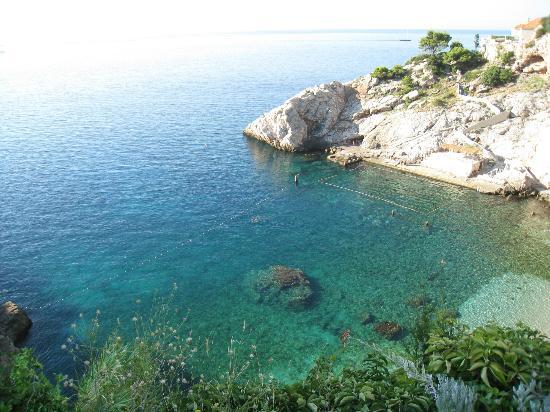 Hotel Bellevue Dubrovnik: VISTAS DESDE LA HABITACION