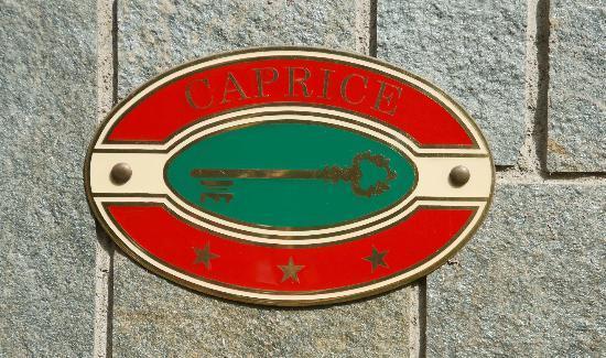 Hotel Caprice: targa Caprice