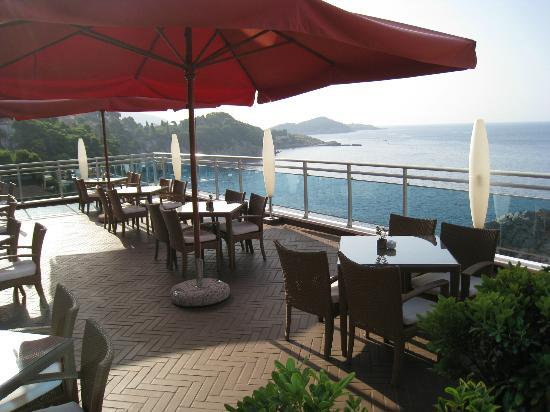 Hotel Bellevue Dubrovnik: TERRAZA