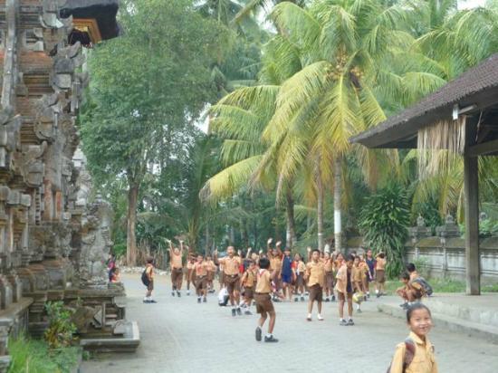Bali Entdecken: Abschied von den Kindern
