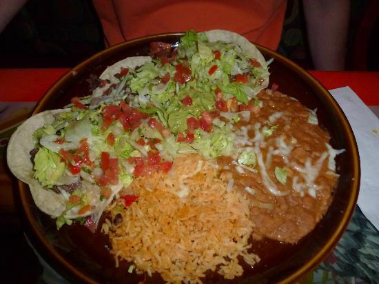 Fiesta Mexicana: Plat principal