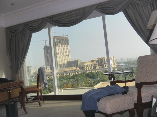 Grand Hyatt Dubai: the view