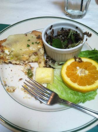 Charlie's L'Etoile Verte: tarte du jour