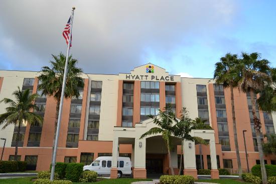hotel hyatt place miami: