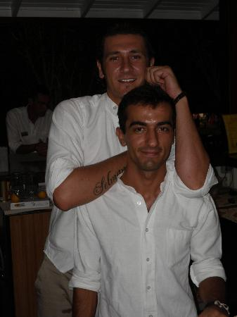 Fortuna Beach Hotel : Selman and Ufuk - great chaps who run the bar