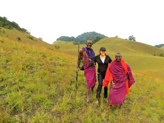 Campi ya Kanzi: Our guides Parashi and Sunde!
