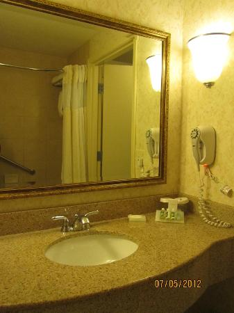Hilton Garden Inn Tri-Cities/Kennewick : Bathroom