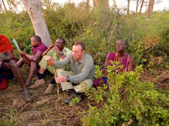 Campi ya Kanzi: flycamping dinner
