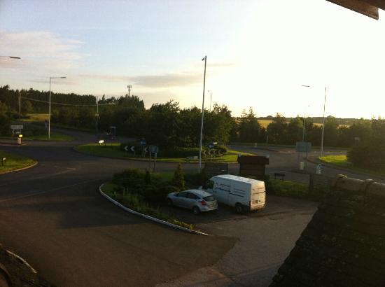 The Airman Hotel: Quiet, Country location...This was taken at 0630 and I'd already been woken for 50 minutes...