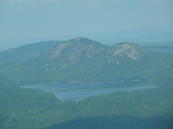 Scenic Flights of Acadia: Bubbles Mountains