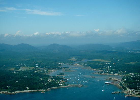Scenic Flights of Acadia: One of the Harbors