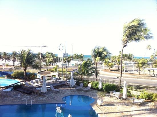Mar Brasil Hotel: vista da janela do quarto