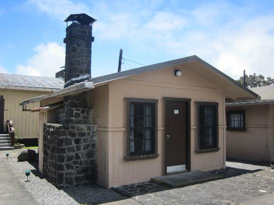 Kilauea Volcano Military Camp: A cottage.